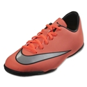 Nike Junior Mercurial Victory V IC (Bright Mango/Metallic Silver)