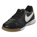 Nike Junior Tiempo Legend VI IC (Black/White)