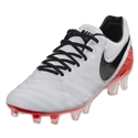 Nike Women's Tiempo Legend VI FG (White/Black)