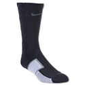 Nike Elite Match Fit Hypervenom Football Crew Sock (Black/Gray)