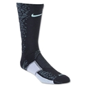 Nike Elite Match Fit Hypervenom Football Crew Sock (Bk/Tl)
