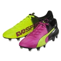 Puma evoSpeed SL II Tricks FG (Pink Glo/Safety Yellow)