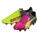 Puma evoSpeed 1.5 Tricks FG (Pink Glo/Safety Yellow)