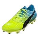 Puma evoPower 2.3 FG (Safety Yellow/Black/Atomic Blue)