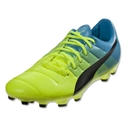 Puma evoPower 3.3 AG (Safety Yellow/Blue/Atomic Blue)