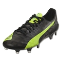 Puma evoSpeed Sl FG (Black/Safety Yellow)