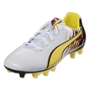 PUMA Attack Pack Falcao v2 FG Junior (Blazing Yellow/Nautical Blue)