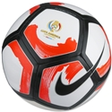 Nike Pitch Ciento Ball (White/Total Crimson)