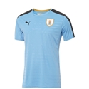 Uruguay 2016 Youth Home Soccer Jersey