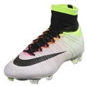 Nike Mercurial Superfly FG (White/Volt/Total Orange)