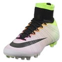 Nike Mercurial Superfly AG-R (White/Volt)