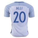 England 2016 ALLI Home Soccer Jersey
