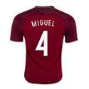 Portugal 2016 MIGUEL Home Soccer Jersey