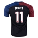 USA 2016 BEDOYA Away Soccer Jersey