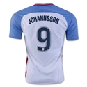 USA 2016 JOHANNSSON Home Soccer Jersey