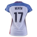 USA 2016 HEATH Women's Home Soccer Jersey