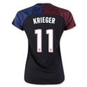 USA 2016 KRIEGER Women's Away Soccer Jersey
