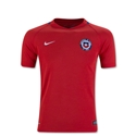 Chile 2016 Youth Home Soccer Jersey