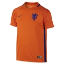 Netherlands 2016 Youth Home Soccer Jersey