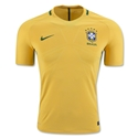 Brazil 2016 Authentic Home Soccer Jersey