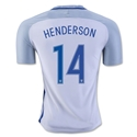 England 2016 HENDERSON Authentic Home Soccer Jersey