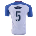 USA 2016 BESLER Authentic Home Soccer Jersey