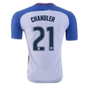 USA 2016 CHANDLER Authentic Home Soccer Jersey
