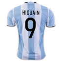 Argentina 2016 HIGUAIN Home Soccer Jersey