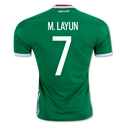 Mexico 2016 M. LAYUN Home Soccer Jersey