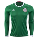 Mexico 2016 LS Home Soccer Jersey