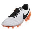 Nike Tiempo Leagcy II FG (White/Total Orange)