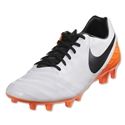 Nike Tiempo Mystic V FG (White/Total Orange)