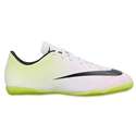 Nike Mercurial Victory V IC Junior (White/Volt)