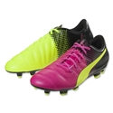 Puma evoSpeed 4.3 Tricks FG (Pink Glo/Safety Yellow)