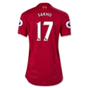Liverpool 16/17 SAKHO Women's Home Soccer Jersey
