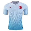 Turkey 2016 Away Soccer Jersey