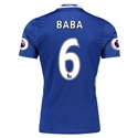 Chelsea 16/17  6 BABA Authentic Home Soccer Jersey