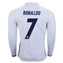 Real Madrid 16/17 RONALDO LS Home Soccer Jersey