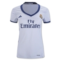 Real Madrid 16/17 Women's Home Soccer Jersey