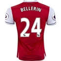 Arsenal 16/17 24 BELLERIN Home Soccer Jersey