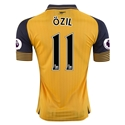 Arsenal 16/17 11 OZIL Away Soccer Jersey