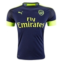 Arsenal 16/17 Third Soccer Jersey