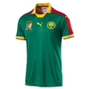 Cameroon 2017 Home Soccer Jersey