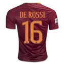 AS Roma 16/17 DE ROSSI Home Soccer Jersey