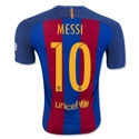 Barcelona 16/17 MESSI Authentic Home Soccer Jersey