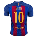 Barcelona 16/17 MESSI Home Soccer Jersey