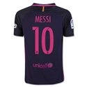 Barcelona 16/17 MESSI Youth Away Soccer Jersey