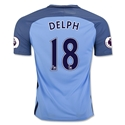 Manchester City 16/17 DELPH Home Soccer Jersey