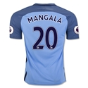 Manchester City 16/17 MANGALA Home Soccer Jersey
