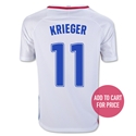 USA 16/17 KRIEGER Youth Home Soccer Jersey
